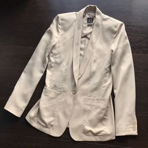 A/X Armani Exchange cream Women's blazer - XS